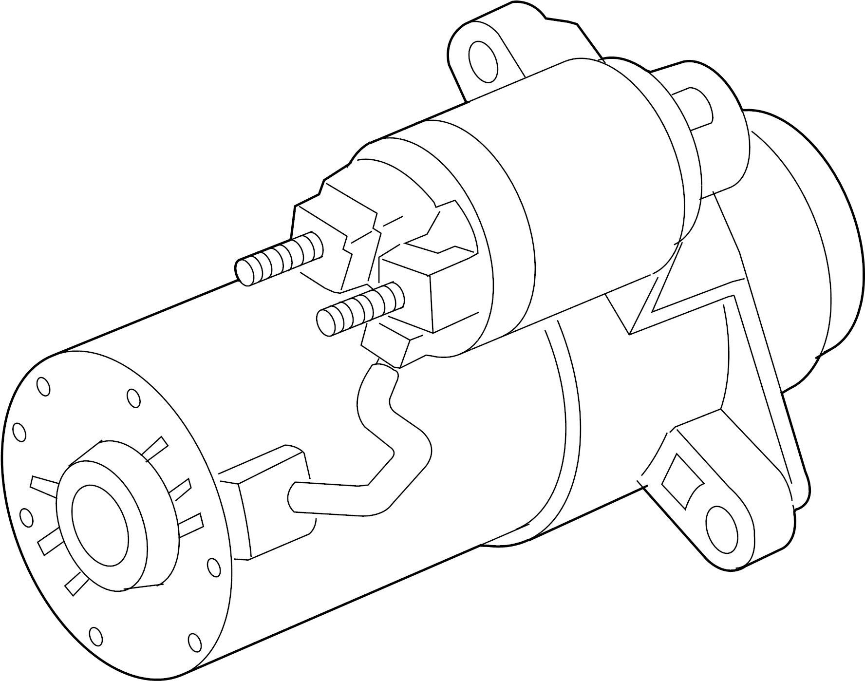 Gmc Envoy Xl Starter Motor Liter