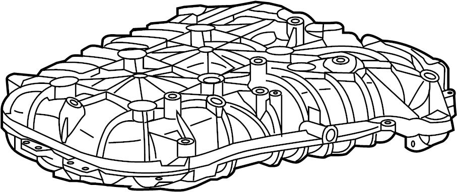 2013 Buick Enclave Engine Intake Manifold. INTAKE PLENUM