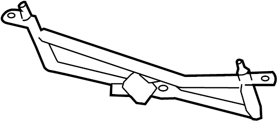 GMC Acadia Windshield Wiper Linkage. Design, WASHER, Rear