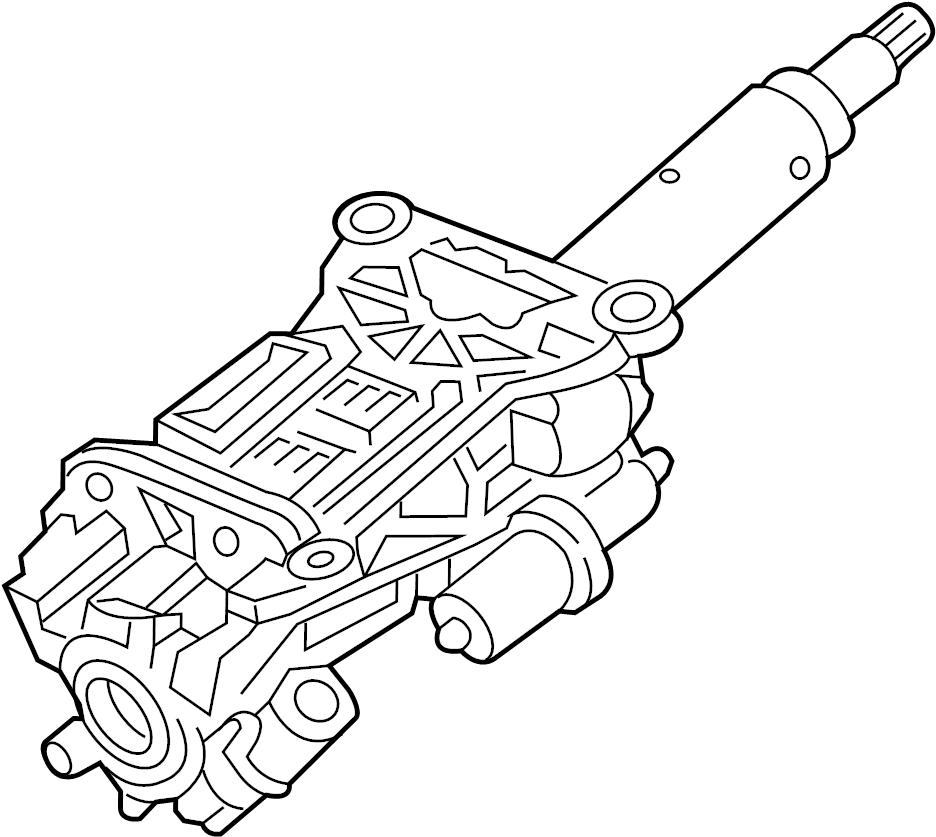 Chevrolet Traverse Steering Column. Tilt, Power, Lock