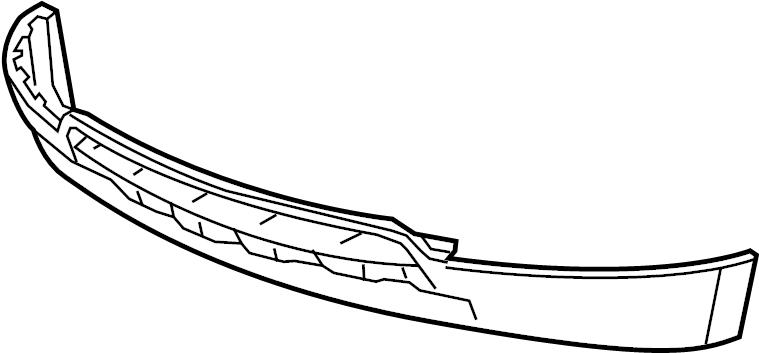 Chevrolet Equinox Valance Panel (Front, Lower). 2010-15, w