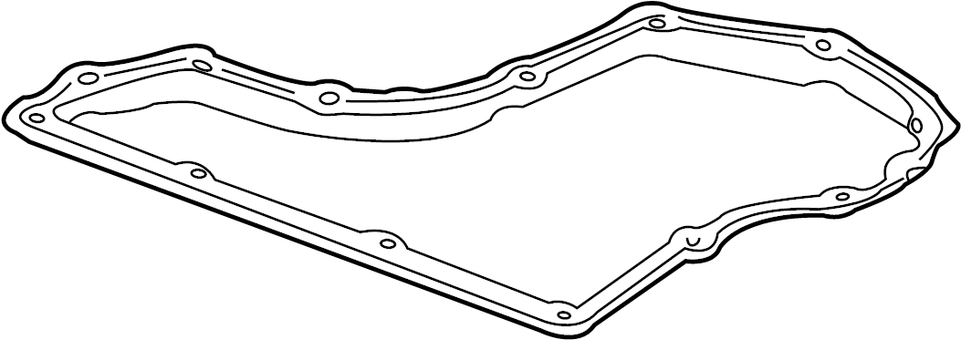 1999 Pontiac Gasket. PAN. Oil. TRANSMISSION. LITER, Filter