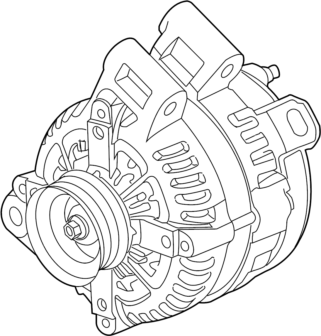 GMC Acadia Alternator. GENERATOR. Acadia. Acadia Limited