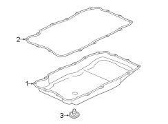 Cadillac Escalade Automatic Transmission Oil Pan Gasket