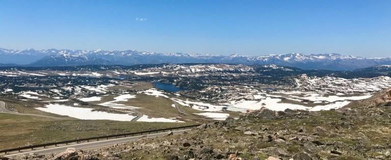 Beartooth Pass Summit Looking Towards Yellowstone