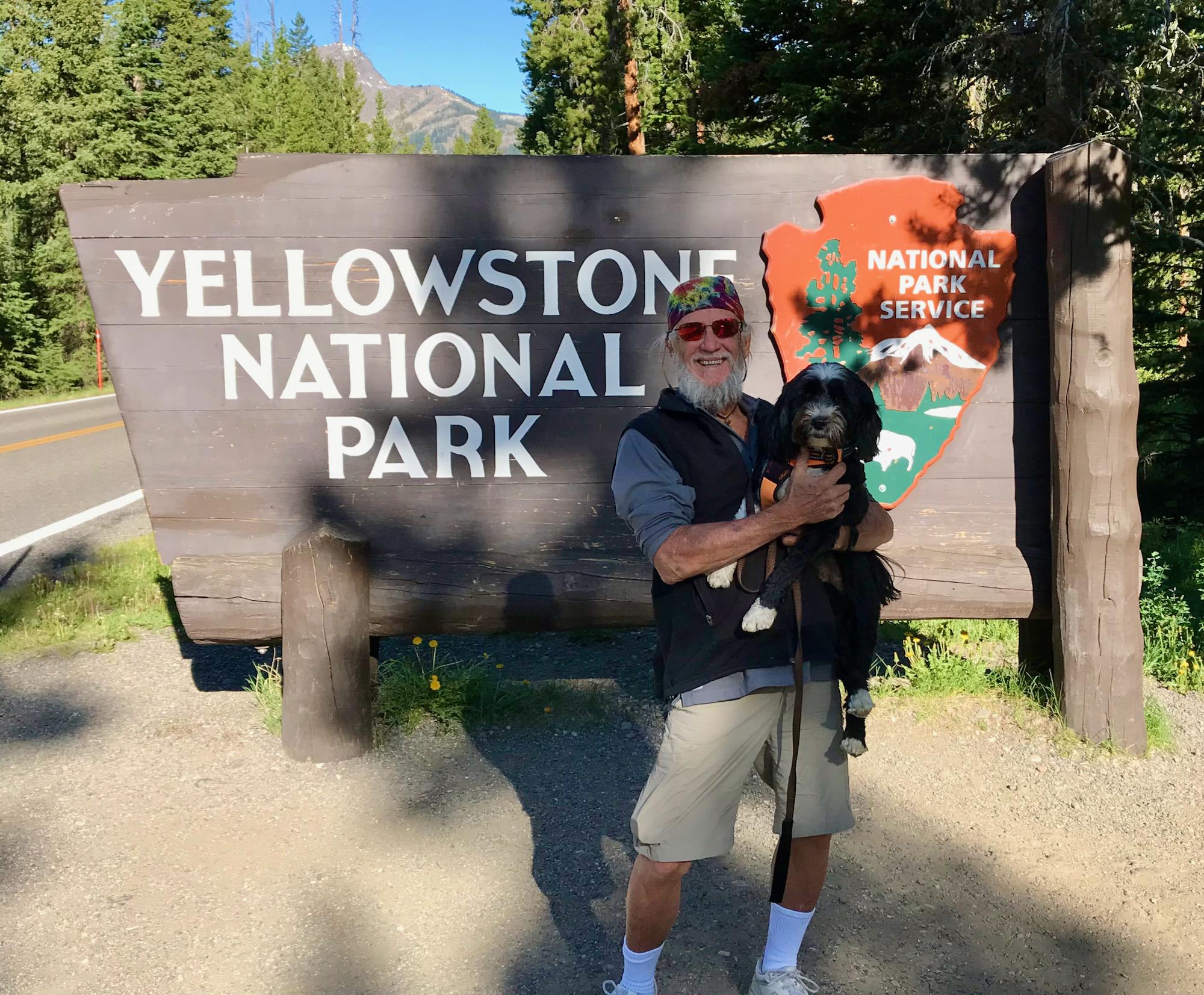 Jake & Eddie Visit Yellowstone