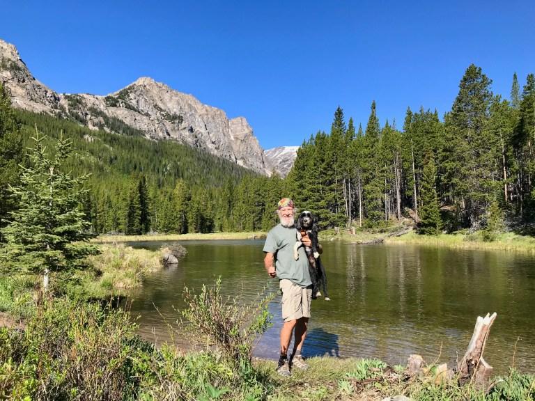 Jake & Eddie near Beartooth Pass Wyoming