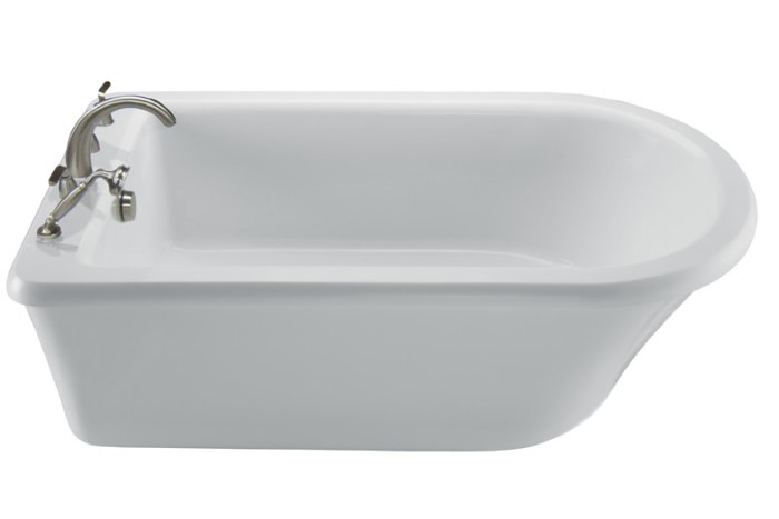 MTI Basics MBXFSX6636 Basics Freestanding Soaking Tub
