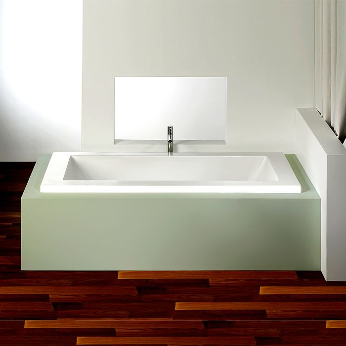 Alcove Flory De Colt 5 Bathtub Whirlpool Air Or Soaking