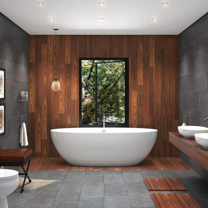 Americh ROC Beijing Tub Freestanding Soaking Bathtub