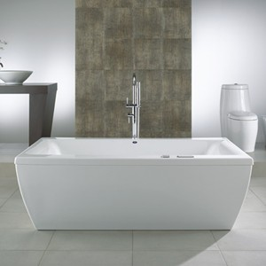 Freestanding Tubs With Whirlpool Water Jets
