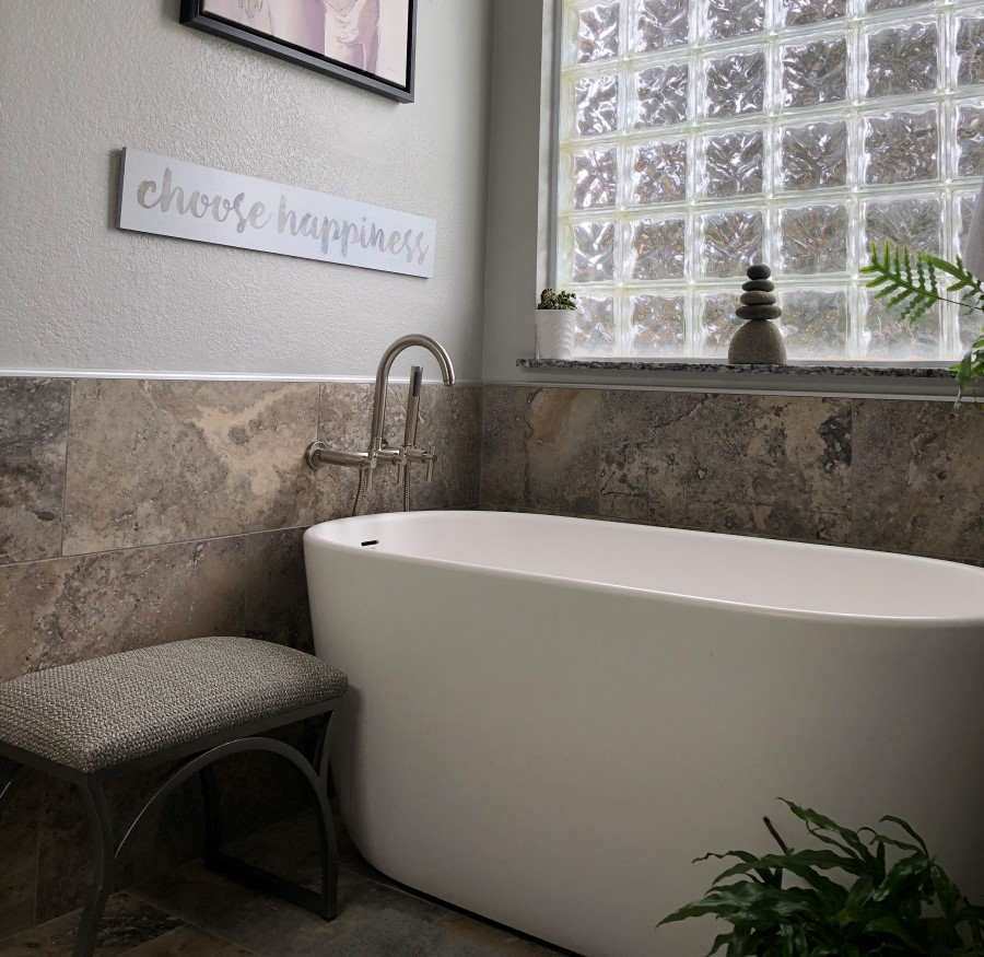 4 freestanding baths that are small in