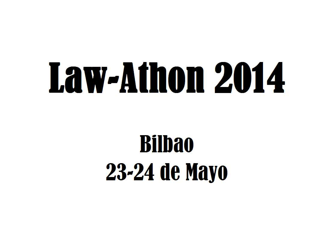Primer Hackathon Legal, Law-athon 2014. Nuevas tecnologías