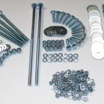 1955 1958 Cameo Complete Bed Bolt Kit Polished Stainless Gm Truck