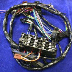 1969 Mustang Under Dash Wiring Diagram Carrier Infinity Heat Pump 1969-1972 Wire Harness (for Trucks With Factory Gauges) - Gm Truck69-72' Pickup ...