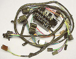 1963 Dash Wire Harness  GM Truck With Warning Lights