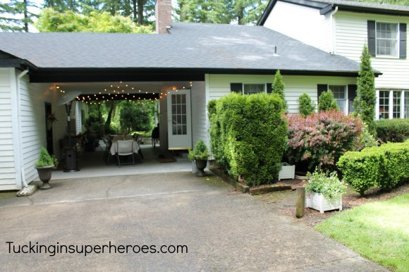 carport tucking in superhero.com