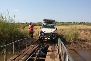 Landrover Defender, South Africa, Mozambique and Swaziland 2011