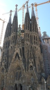 Sagrada Familia still not finished after 130 years!!  Contractor's delay damages must be racking-up by now...