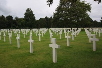 US war cemetery Normandy