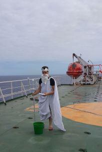 Equator crossing Grande Nigeria