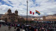 Plaza de Armas Cusco fiestas