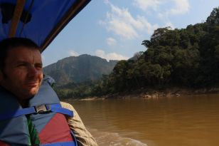 On the river - Bolivian jungle