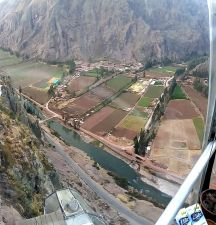 skylodge view from the loo Sacred Valley Peru