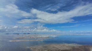 Uyuni Salt Pan - January-style