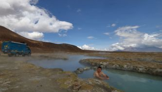 hot springs surire chile
