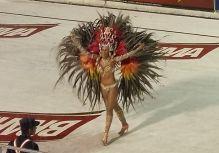 Paraguay Carnaval Girl