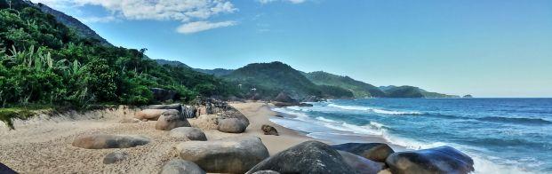 Trindade Beach Brazil