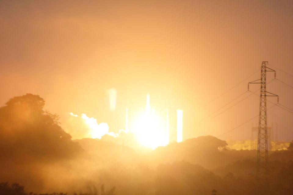 rocket launch french guiana