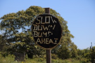 Rupununi road sign