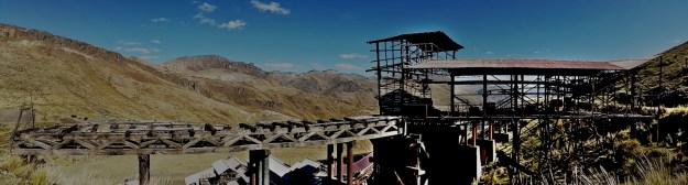 Peru travel blog: Santa Barbara Mine Huancavelica