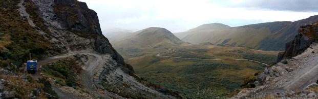 ecuador scenery volcan cayambe