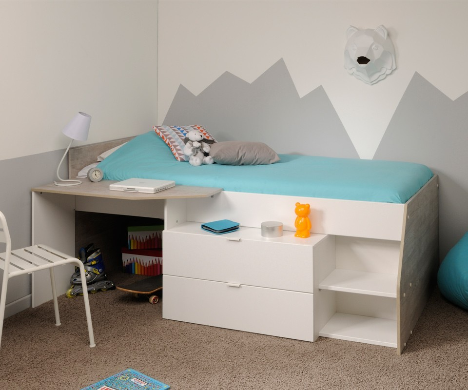 Cama nido y escritorio Elisa Comprar camas nido en Tuconet