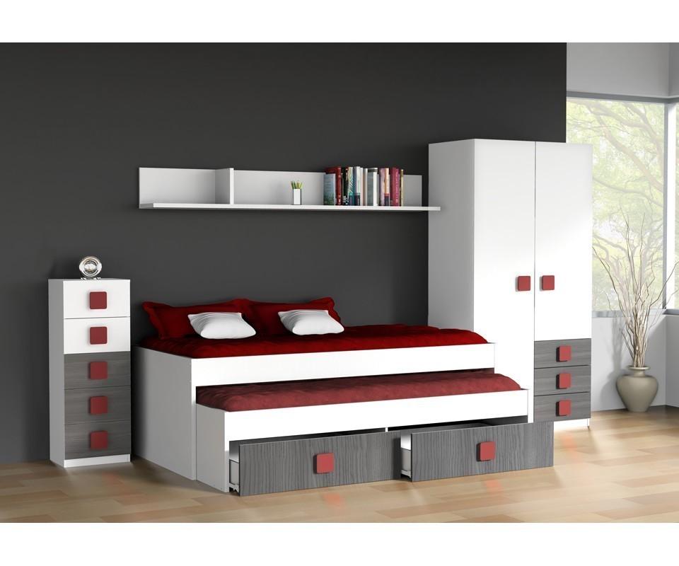 Comprar Habitacin juvenil Rachel  Precio Conjuntos dormitorios juveniles Tuconet