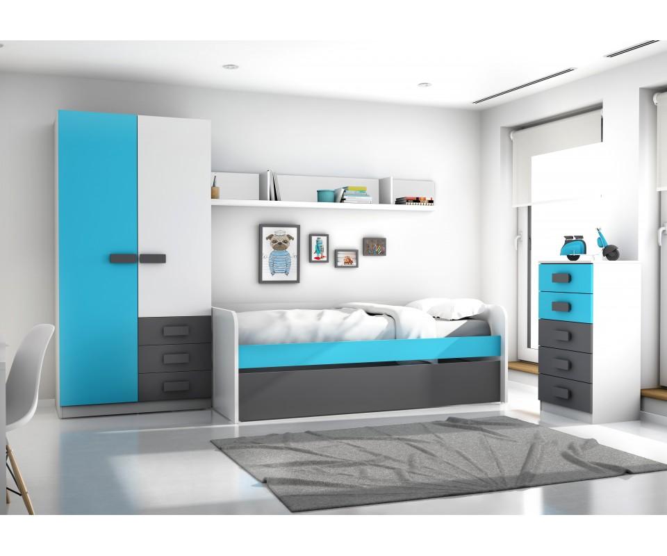 Comprar Dormitorio juvenil Fritz  Precio Juveniles Tuconet