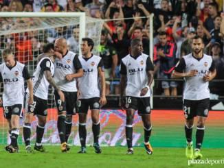 El Valencia vela armas de cara al parido contra el Barcelona.