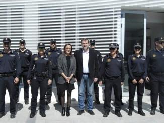 La vicepresidenta ha visitado la localidad de La Ribera Alta para conocer las diversas obras ejecutadas con los 1.216.000 euros que la Diputación ha invertido en la actual legislatura