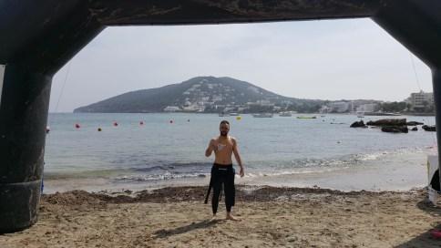 El nadador natural de Macastre, José Vicente Romero Gómez.