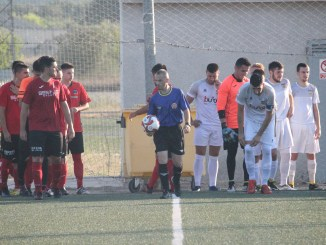 El CD Buñol seguix en plena pretemporada. Foto: Raúl Miralles