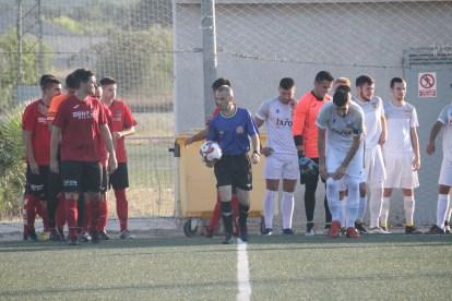 El CD Buñol sigue en plena pretemporada. Foto: Raúl Miralles.