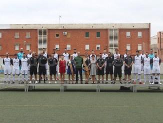 La plantilla del Club Deportivo Buñol para la temporada 2018-19. Foto: Raúl Miralles.