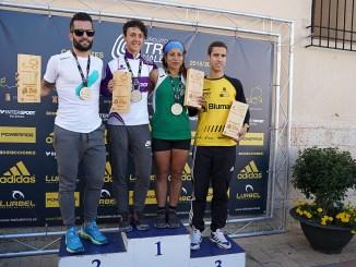 Jesús Quiles y Clara Renard, en sprinttrail, y Simón Rama y Eulalia Margarita Paucar, en trail, han sido los ganadores de la primera prueba puntuable de la temporada.