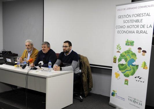 La Diputació ha destinado 132.633 euros a la comarca de la Plana Requena-Utiel a través del Programa de Gestión Forestal Sostenible de 2017.