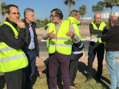Las acciones pretenden mejorar la accesibilidad y la seguridad en los accesos a l'Eliana.