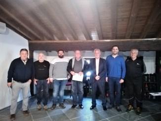 Foto de grupo presentación V Trofeo Ciudad de Requena.