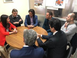 La cabeza de lista del PPal Congreso por Valencia ha visitado esta semana la planta de Buñol.